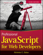 Cover of Professional: JavaScript® for Web Developers, Third Edition