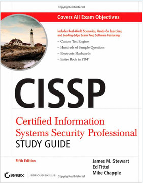 CISSP®: Certified Information Systems Security Professional Study Guide, Fifth Edition