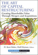 Cover of The Art of Capital Restructuring: Creating Shareholder Value through Mergers and Acquisitions