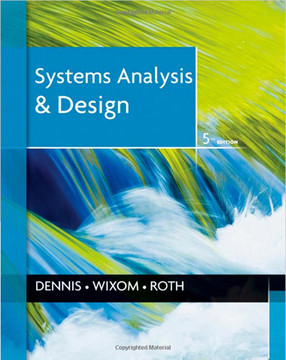 System Analysis and Design, Fifth Edition