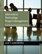 Cover of Information Technology Project Management: Providing Measurable Organizational Value, Fourth Edition