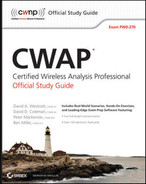 Cover of CWAP® Certified Wireless Analysis Professional: Official Study Guide