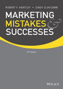 Cover of Marketing Mistakes and Successes, 12th Edition
