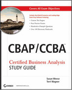 Cover of CBAP®/CCBA™ Certified Business Analysis, Study Guide