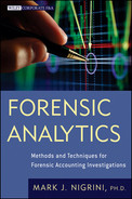 Cover of Forensic Analytics: Methods and Techniques for Forensic Accounting Investigations