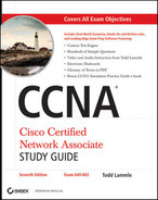 Cover of CCNA® Cisco Certified Network Associate: Study Guide, Seventh Edition