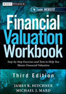 Cover of Financial Valuation Workbook: Step-by-Step Exercises and Tests to Help You Master Financial Valuation, 3rd Edition