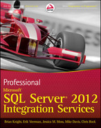 Cover of Professional Microsoft SQL Server 2012 Integration Services