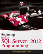 Cover of Beginning Microsoft® SQL Server® 2012 Programming