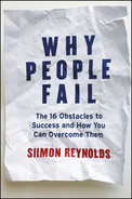 Cover of Why People Fail: The 16 Obstacles to Success and How You Can Overcome Them