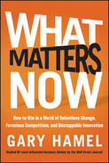 Cover of What Matters Now: How to Win in a World of Relentless Change, Ferocious Competition, and Unstoppable Innovation