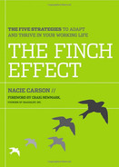 Cover of The Finch Effect: The Five Strategies to Adapt and Thrive in Your Working Life