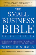 Cover of The Small Business Bible: Everything You Need to Know to Succeed in Your Small Business, 3rd Edition