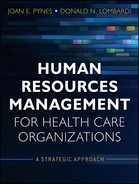 Cover of Human Resources Management for Health Care Organizations: A Strategic Approach