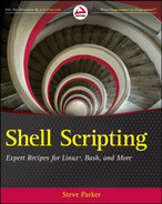 Cover of Shell Scripting: Expert Recipes for Linux, Bash, and More