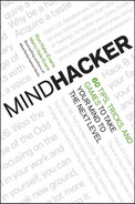 Cover of Mindhacker: 60 Tips, Tricks, and Games to Take Your Mind to the Next Level