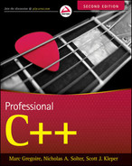 Cover of Professional C++, Second Edition