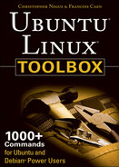 Cover of Ubuntu Linux Toolbox: 1000+ Commands for Power Users, 2nd Edition