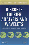 Cover of Discrete Fourier Analysis and Wavelets: Applications to Signal and Image Processing