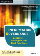 Cover of Information Governance: Concepts, Strategies, and Best Practices