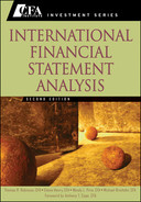Cover of International Financial Statement Analysis, 2nd Edition