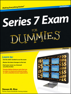 Series 7 Exam For Dummies, Premier Edition with CD, 2nd Edition