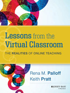 Cover of Lessons from the Virtual Classroom: The Realities of Online Teaching, 2nd Edition