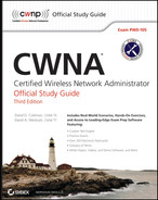 Book cover for CWNA: Certified Wireless Network Administrator Official Study Guide: Exam PW0-105, 3rd Edition