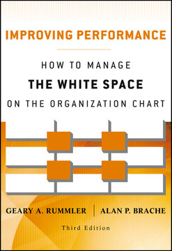 Improving Performance: How to Manage the White Space on the Organization Chart, Third Edition