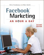 Cover of Facebook Marketing: An Hour a Day, 2nd Edition