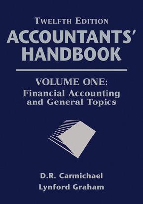 Accountants' Handbook, Financial Accounting and General Topics