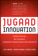 Book cover for Jugaad Innovation: Think Frugal, Be Flexible, Generate Breakthrough Growth