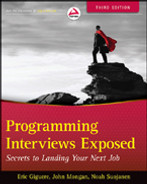 Cover of Programming Interviews Exposed: Secrets to Landing Your Next Job, 3rd Edition