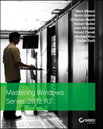 Cover of Mastering Windows Server 2012 R2