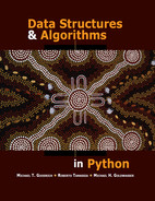 Book cover for Data Structures and Algorithms in Python