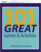 Cover of 101 Great Games and Activities