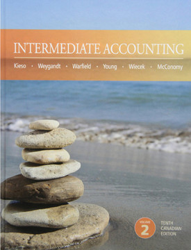 Intermediate Accounting, Tenth Canadian Edition, Volume 2