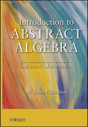 Cover of Introduction to Abstract Algebra, 4th Edition