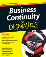 Cover of Business Continuity For Dummies