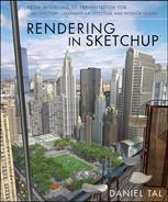Realistic Vegetation - Rendering in SketchUp: From Modeling