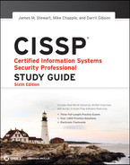 Cover of CISSP: Certified Information Systems Security Professional Study Guide, 6th Edition