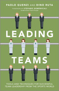 Cover of Leading Teams: Tools and Techniques for Successful Team Leadership from the Sports World