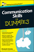 Cover of Communication Skills For Dummies