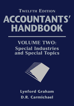 Accountants' Handbook, Volume Two, Special Industries and Special Topics, 12th Edition