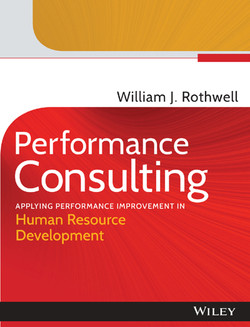 Performance Consulting: Applying Performance Improvement in Human Resource Development