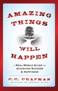 Cover of Amazing Things Will Happen: A Real-World Guide on Achieving Success and Happiness