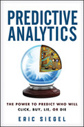 Cover of Predictive Analytics: The Power to Predict Who Will Click, Buy, Lie, or Die