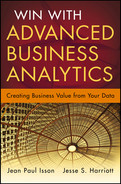 Cover of Win with Advanced Business Analytics: Creating Business Value from Your Data