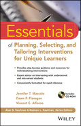 Cover of Essentials of Planning, Selecting, and Tailoring Interventions for Unique Learners