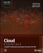 Cover of Cloud Essentials: CompTIA Authorized Courseware for Exam CLO-001